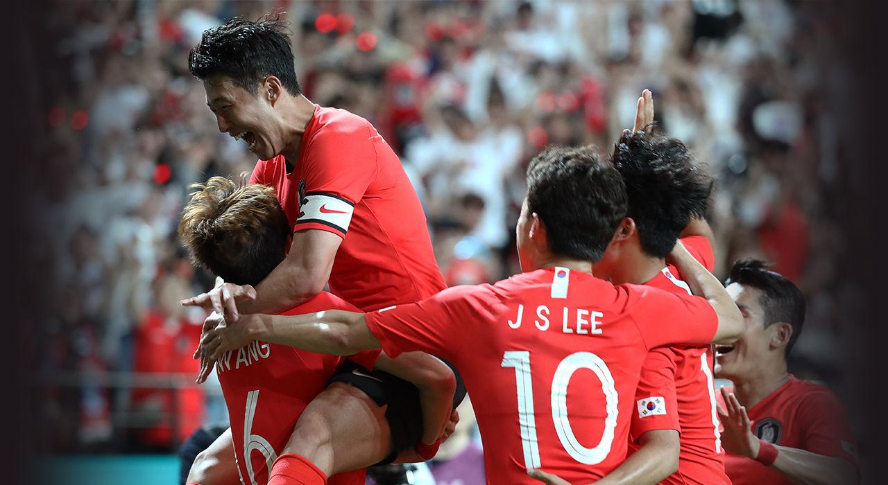 대한민국 축구 국가대표 경기