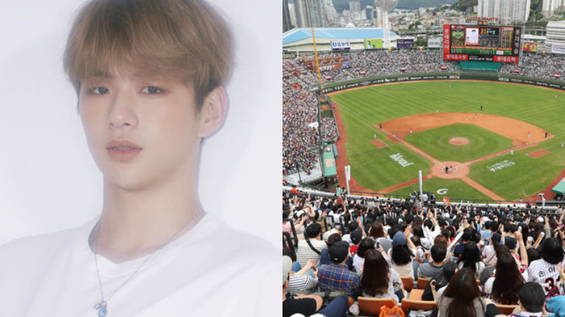 기사 대표 이미지:[SBS Star] Kang Daniel to Throw First Pitch at Baseball Game in His Hometown