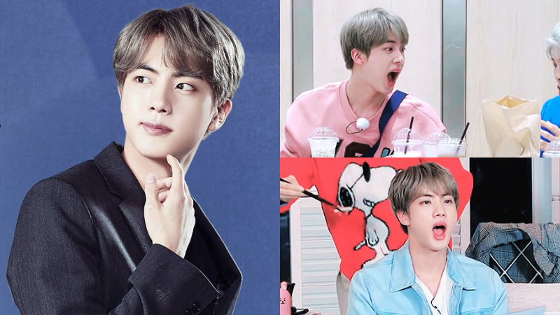 기사 대표 이미지:[SBS Star] BTS JIN Shows a Simple but Effective Trick to Make People Feed Him