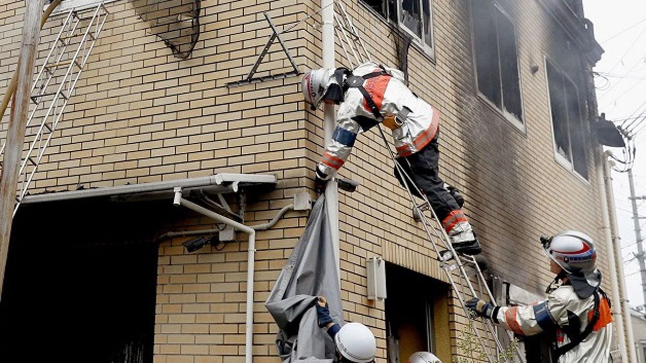 At least 7 people died in studio fire - Teller Report