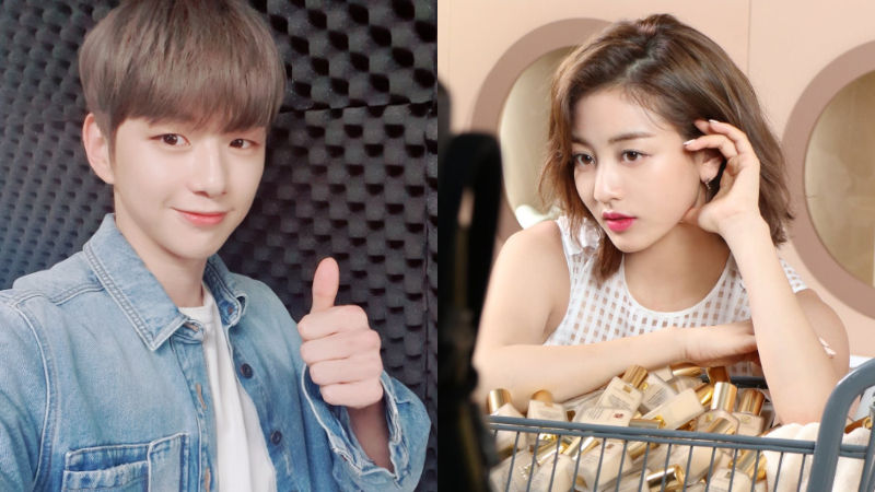 기사 대표 이미지:[SBS Star] Kang Daniel & JIHYOs Agency Confirm Their Relationship