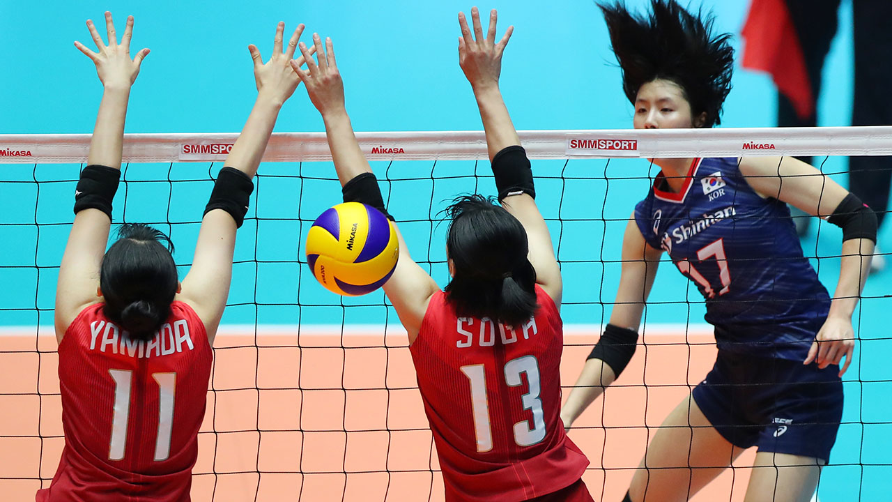 Japan S Top Ten Losers Korean Women S Volleyball Fails To Advance To Final Teller Report