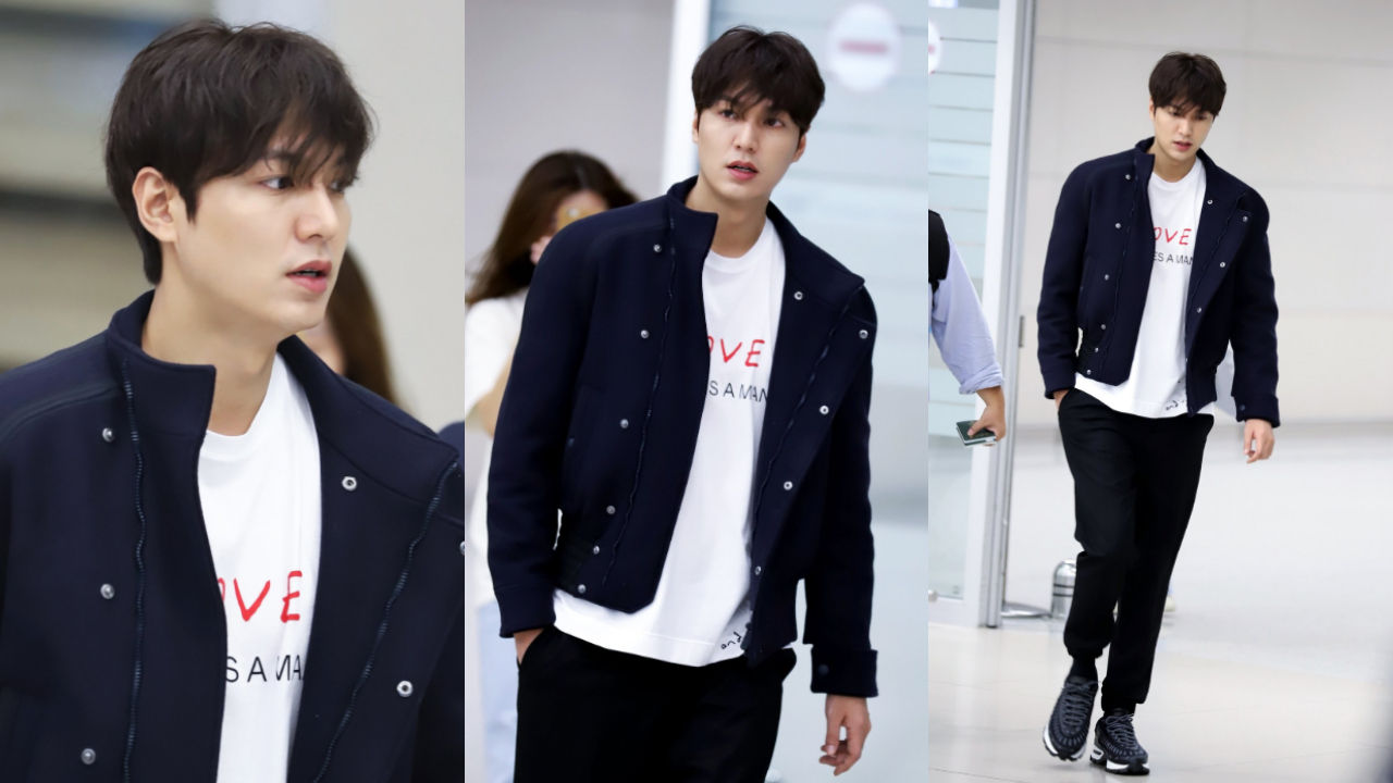 기사 대표 이미지:[SBS Star] Lee Minho Flutters Everybodys Heart with His Gorgeous Appearance at the Airport