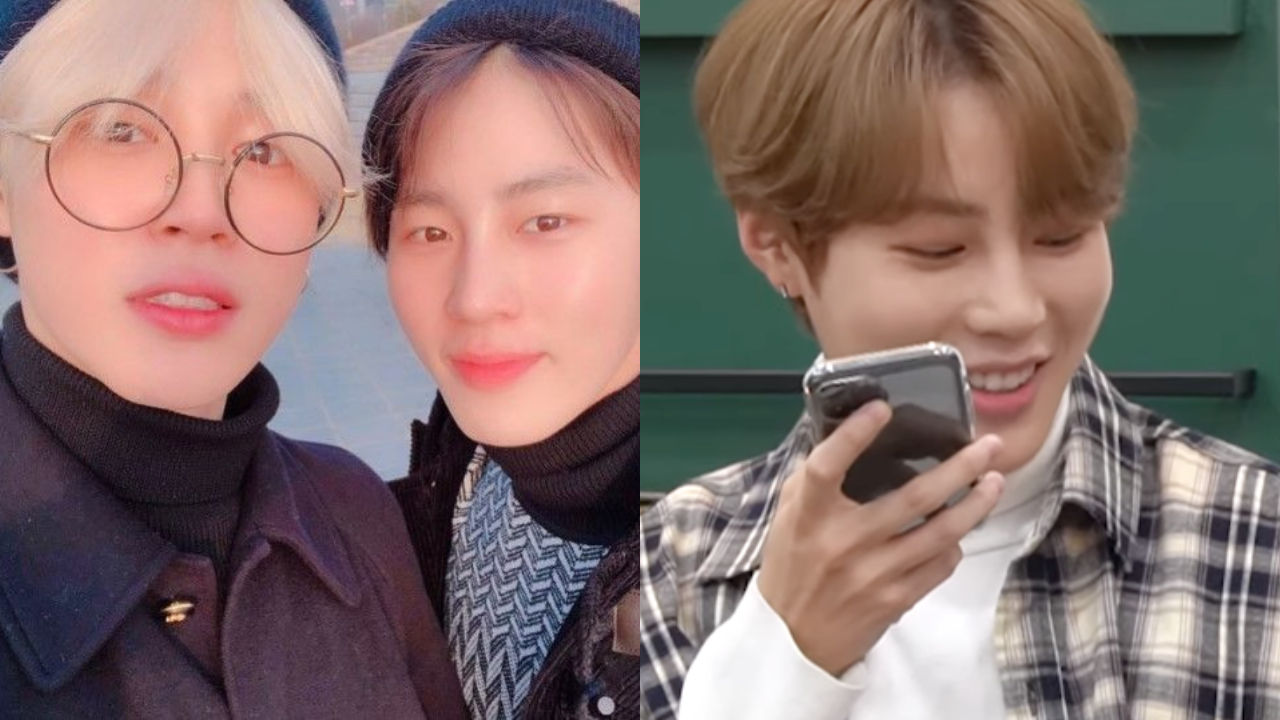 기사 대표 이미지:[SBS Star] VIDEO: JIMIN Tells How Happy He Is on a Phone Conversation with Ha Sung Woon