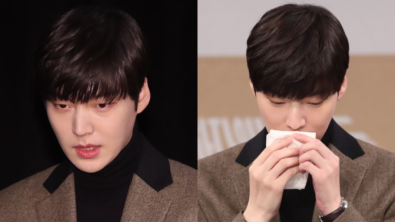 기사 대표 이미지:[SBS Star] Ahn Jae Hyeon Makes First Official Appearance Since His Marriage Dispute