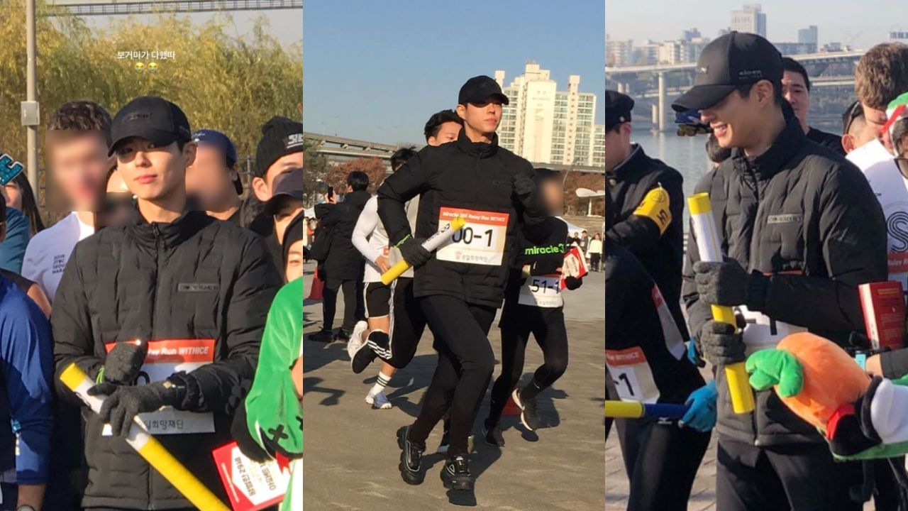 기사 대표 이미지:[SBS Star] Park Bo Gum Runs a Special Marathon to Help the ALS Patients