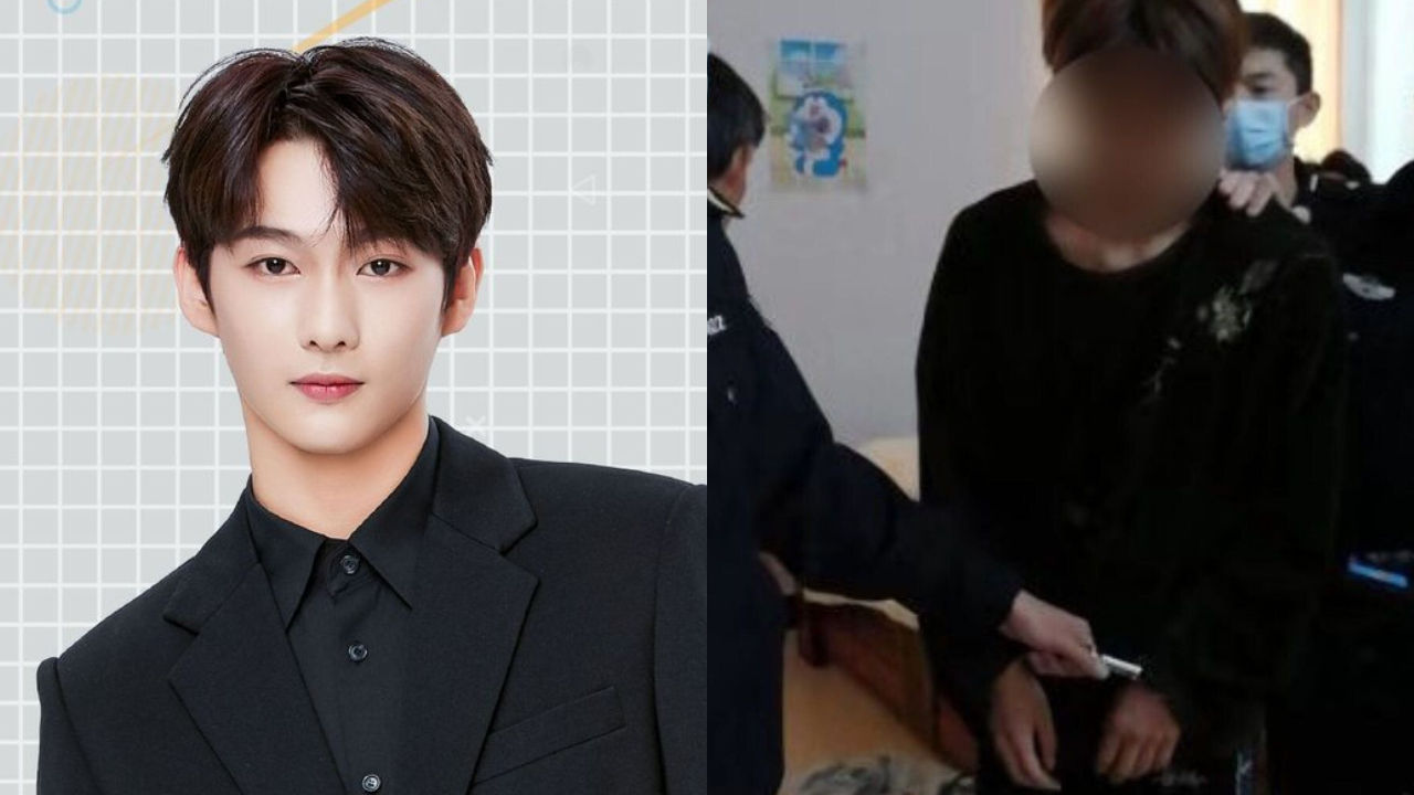 기사 대표 이미지:[SBS Star] Yuehua Entertainment Kicks Out a Popular Trainee After Police Arrested Him