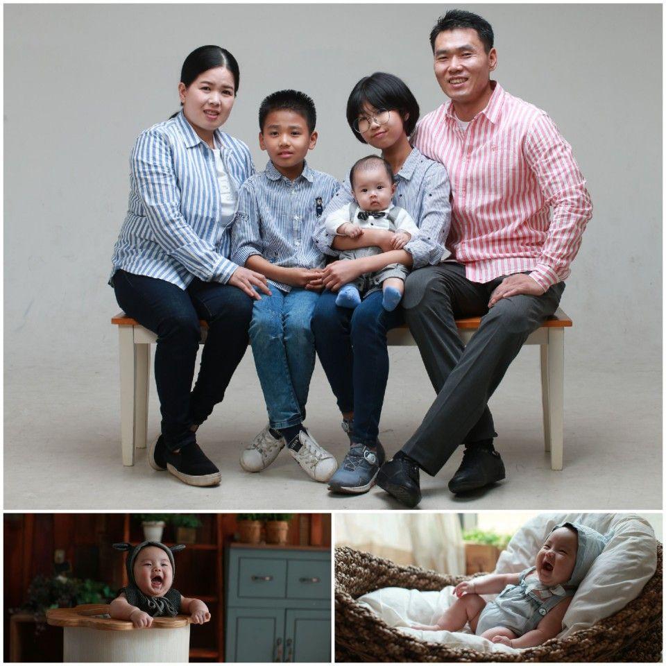 신의현 가족사진