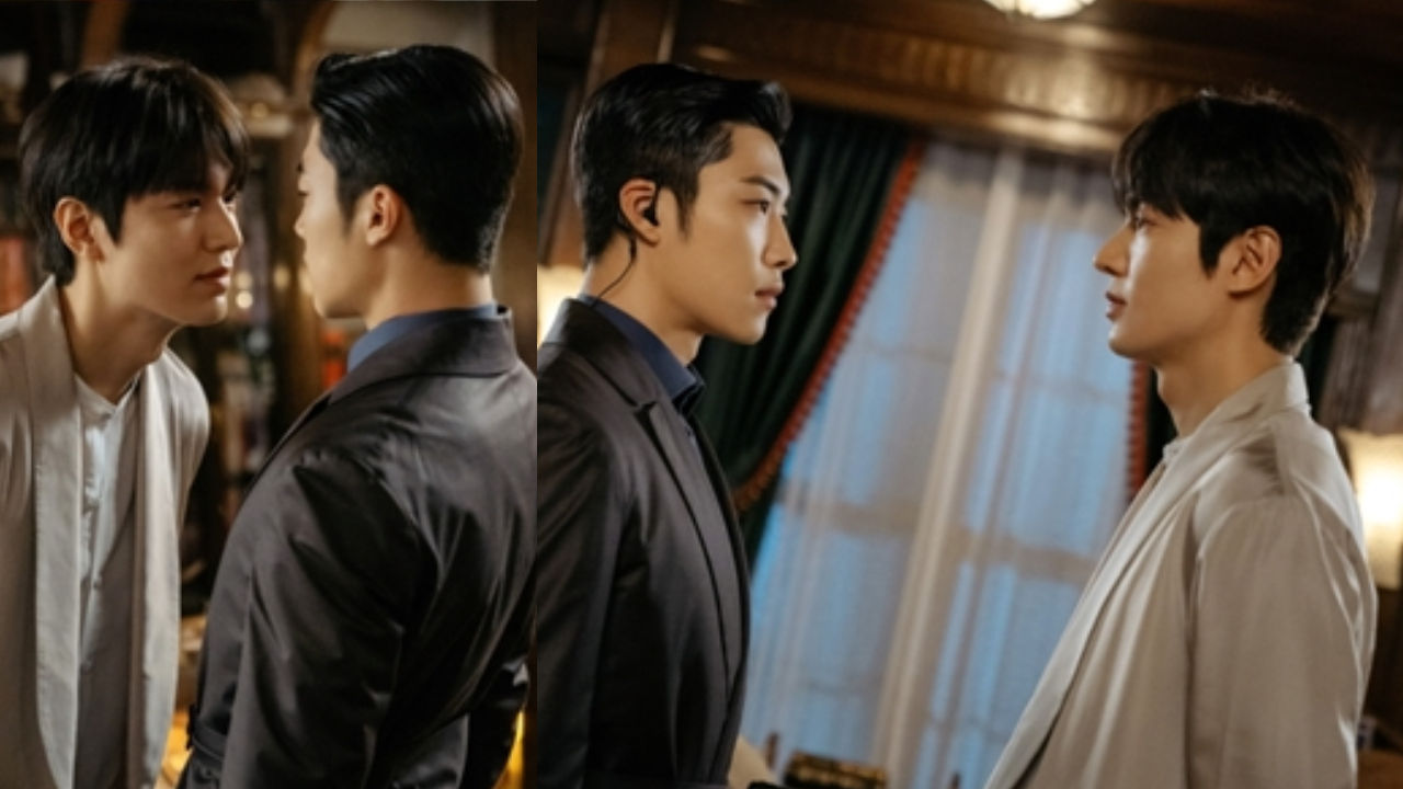기사 대표 이미지:[SBS Star] The King: Eternal Monarch Releases Stills of Lee Minho & Woo Do Hwan Together