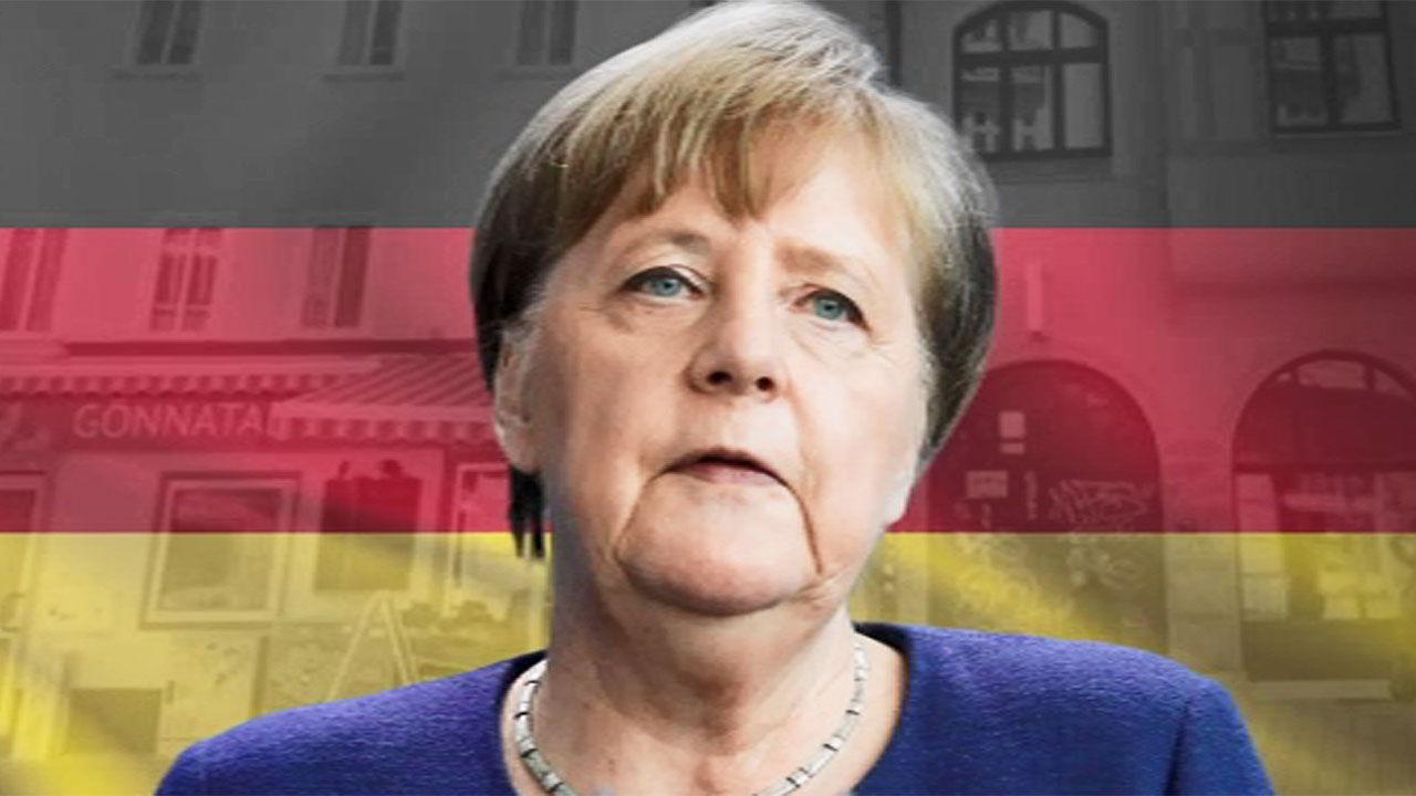 """메르켈 """"제한조치 해제는 점진적으로…유럽공동채권 반대"""""""