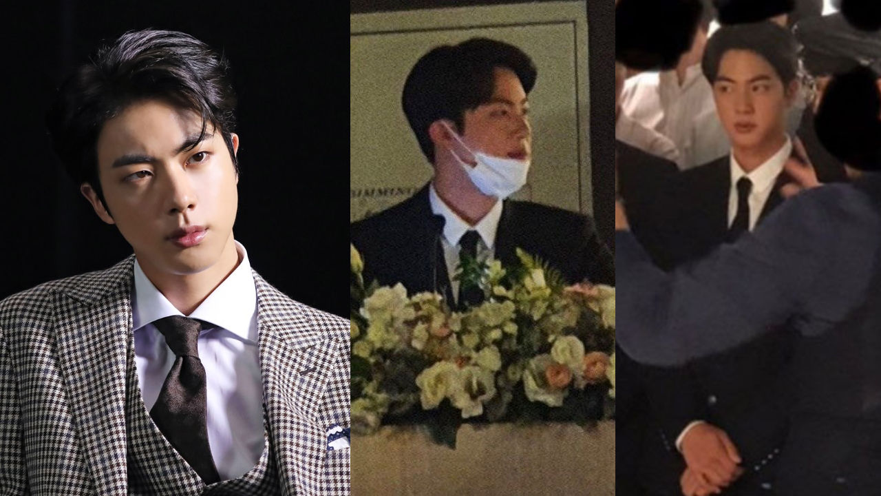 기사 대표 이미지:[SBS Star] BTS JIN Attends His Best Friends Wedding as the Special MC