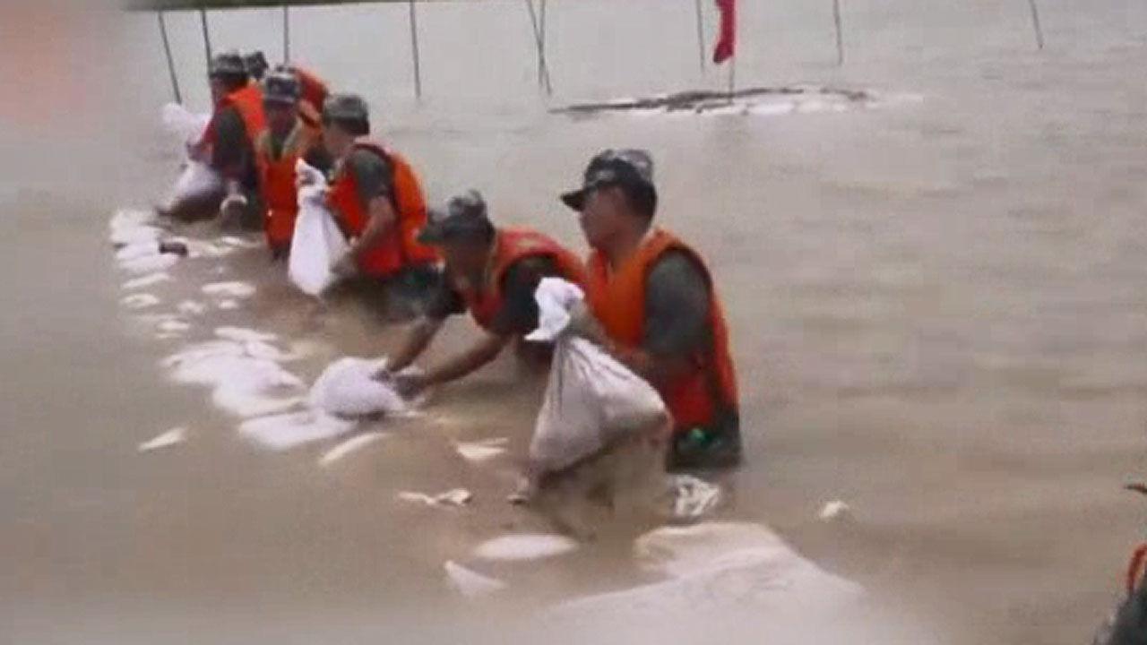 폭우 피해 - 중국
