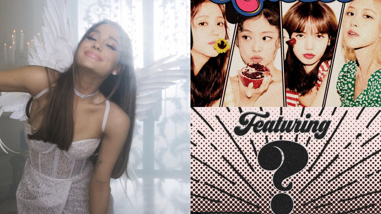 기사 대표 이미지:[SBS Star] Is Ariana Grande the Featuring Artist of BLACKPINKs New Single?
