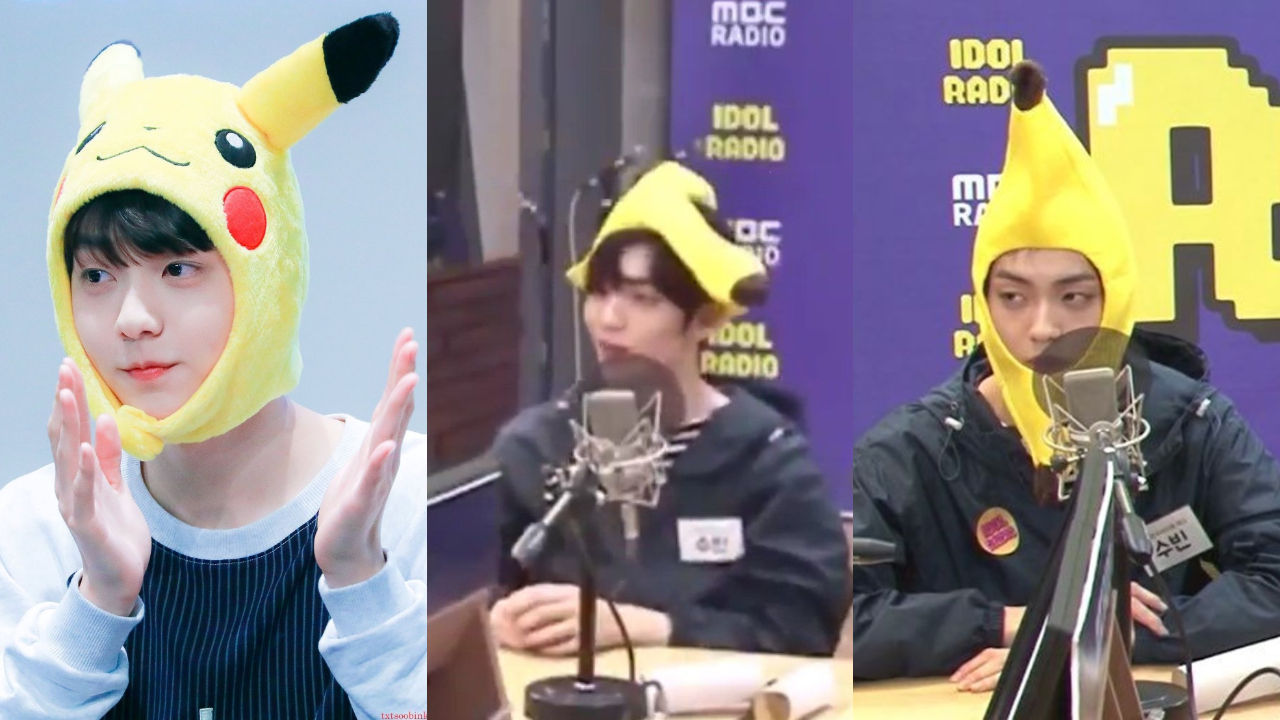 기사 대표 이미지:[SBS Star] SOOBIN Gets Frustrated After Wearing a Banana Headband Which He Thought Was Pikachu