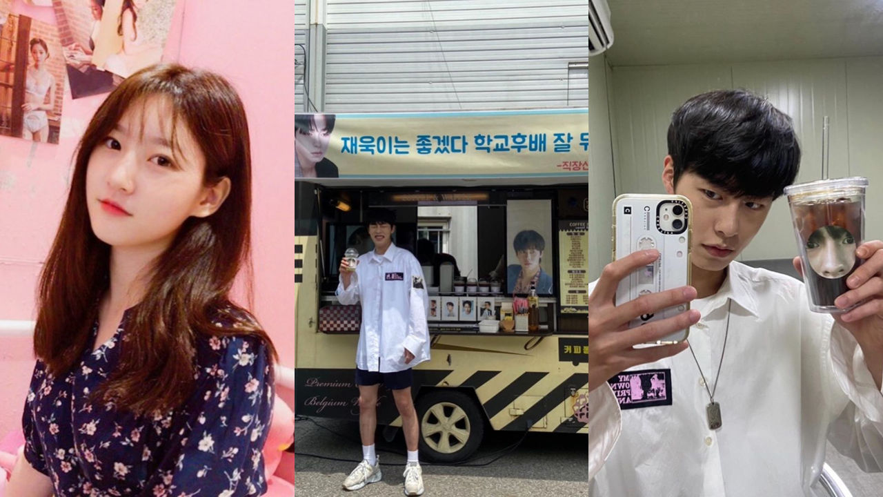 기사 대표 이미지:[SBS Star] Lee Jae Wook Receives a Snack Truck & Hilarious Sticker from Kim Sae Ron