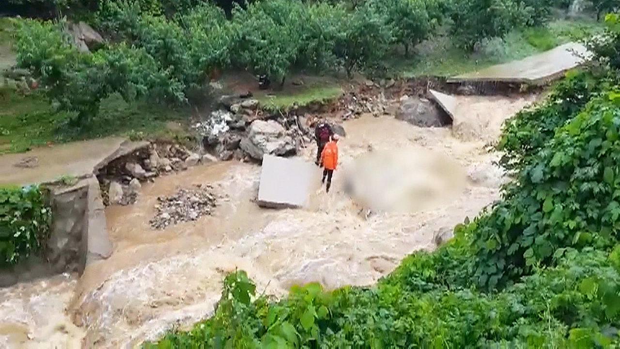 충북 기습 폭우