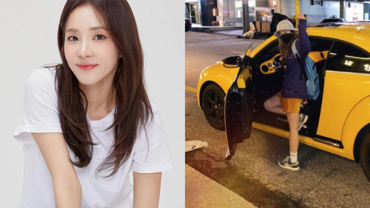 "기사 대표 이미지:[SBS Star] ""I Have Everything in Yellow"" DARA Shows Off a New Car that Apparently Is Not of Her Favorite Color"