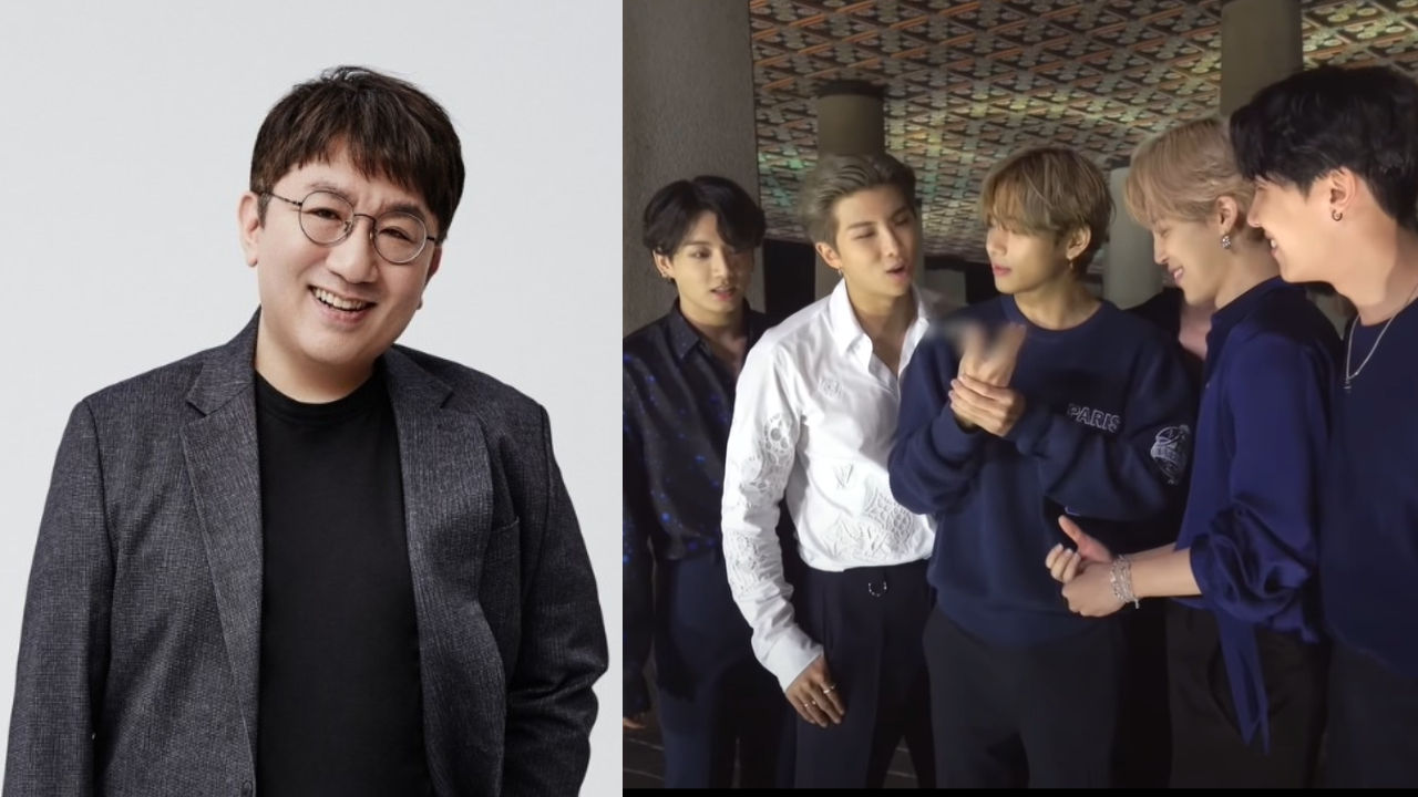 기사 대표 이미지:[SBS Star] Bang Si-hyuk Cries When He Finds Out BTS Topped Billboard Hot 100 Again