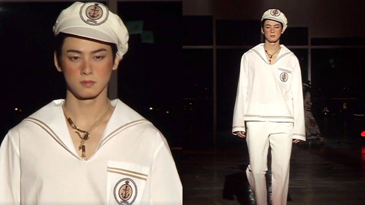 기사 대표 이미지:[SBS Star] VIDEO: ASTRO Cha Eun-woo Makes Debut as a Runway Model