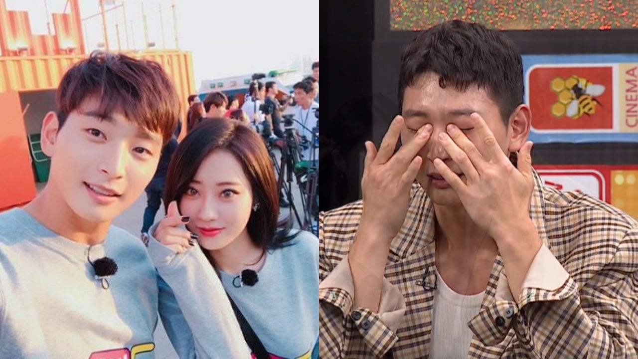 기사 대표 이미지:[SBS Star] Jeong Jinwoon Cries as He Thanks Gyeong Ree for Her Love & Support During Military Service