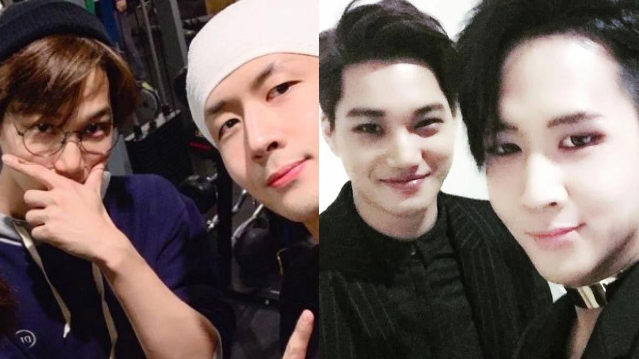 """기사 대표 이미지:[SBS Star] """"He Was Dancing like Crazy at that Time"""" VIXX RAVI Shares How He Became Close to EXO KAI"""