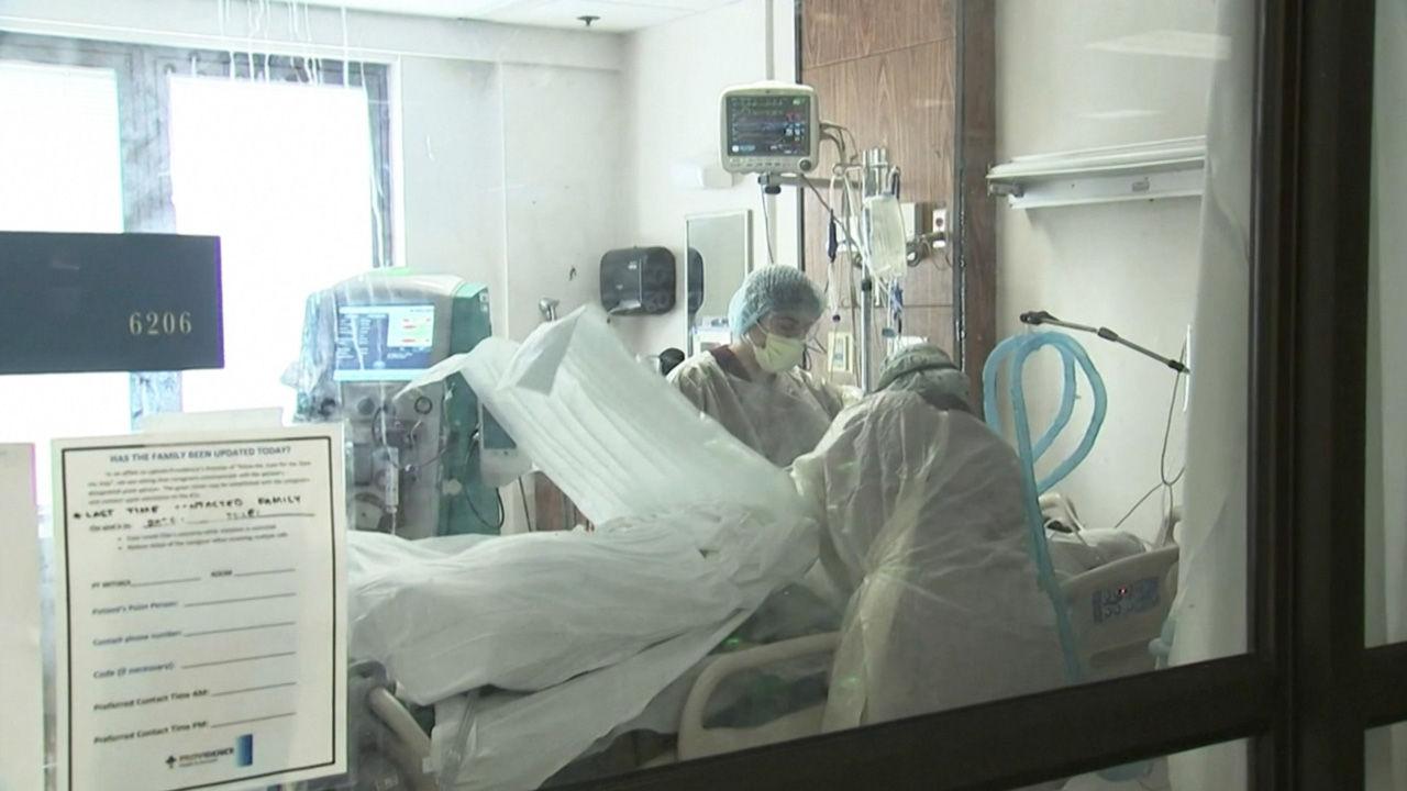 미국, 새해 첫날 누적 2 천만명 ↑ … 17 명 중 1 명 감염