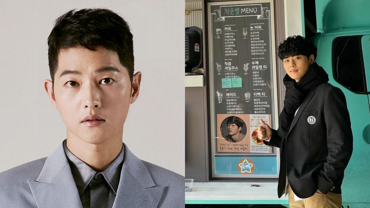 기사 대표 이미지:[SBS Star] Song Joong Ki Shows Support to Cho Byeong Kyu & His Drama