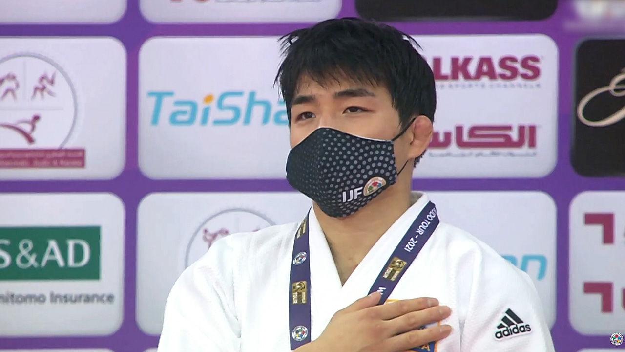 남자 유도 안창림, 73kg 도하 마스터즈 '금메달'