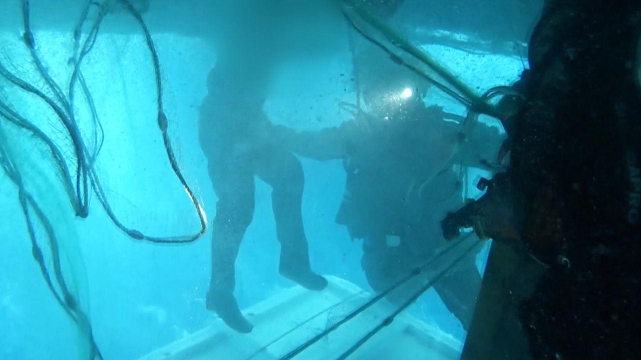 경주 어선 극적인 구조 … 에어 포켓에서 '40 시간 '지속