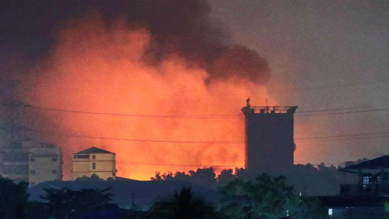 중국 공장에 불을 지르다 … 14 일 59 명만 사망