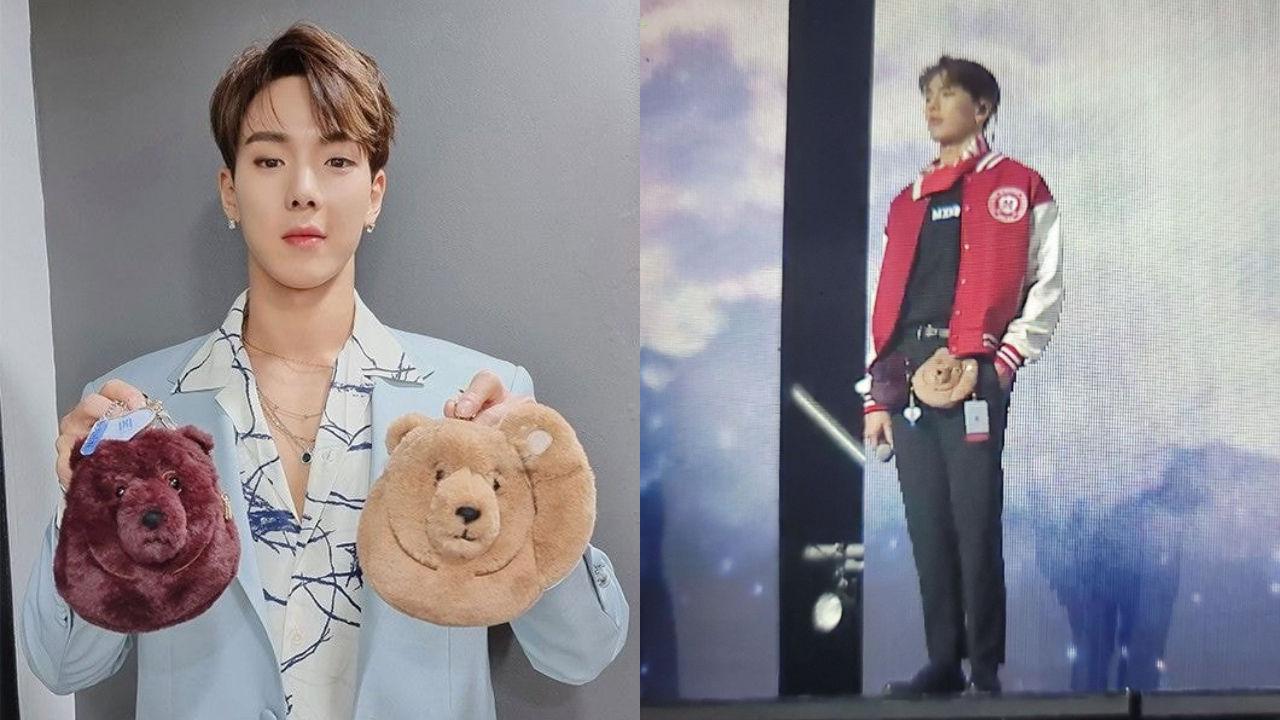 기사 대표 이미지:[SBS Star] MONSTA X SHOWNU Designs Bags that Totally Represent Him