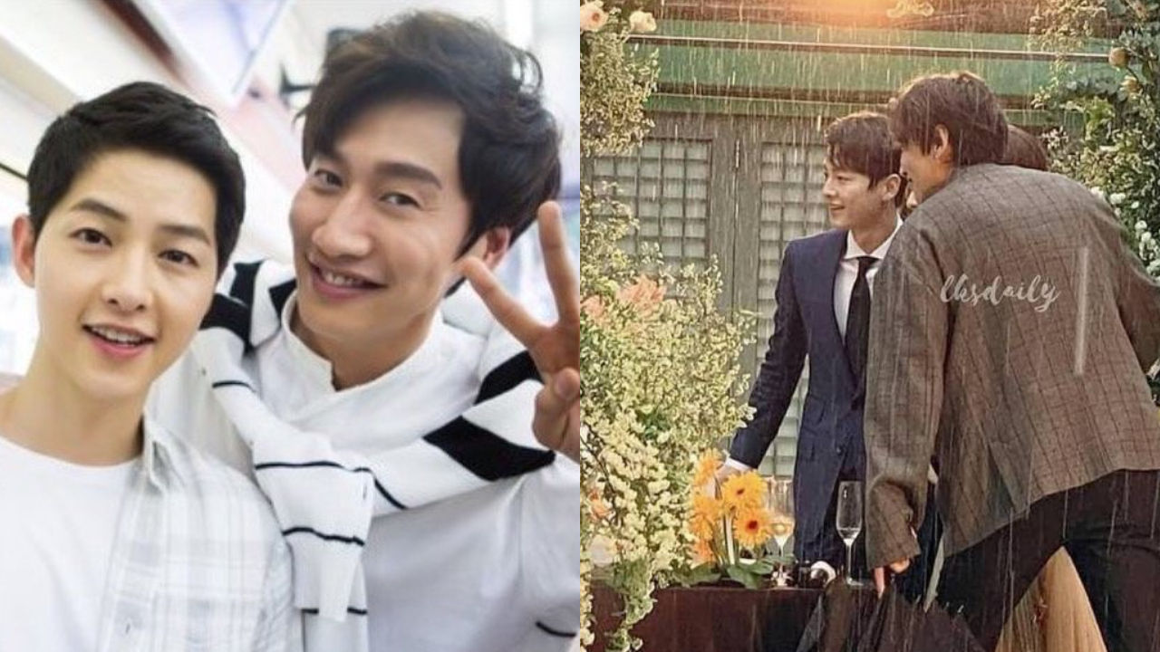 기사 대표 이미지:[SBS Star] Song Joong Ki & Lee Kwang Soo Attend Their Friends Wedding Together