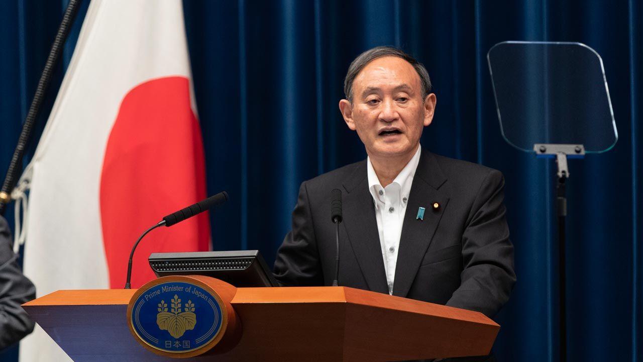 Prime Minister Suga of Japan (Photo Credit=Getty Images Korea)