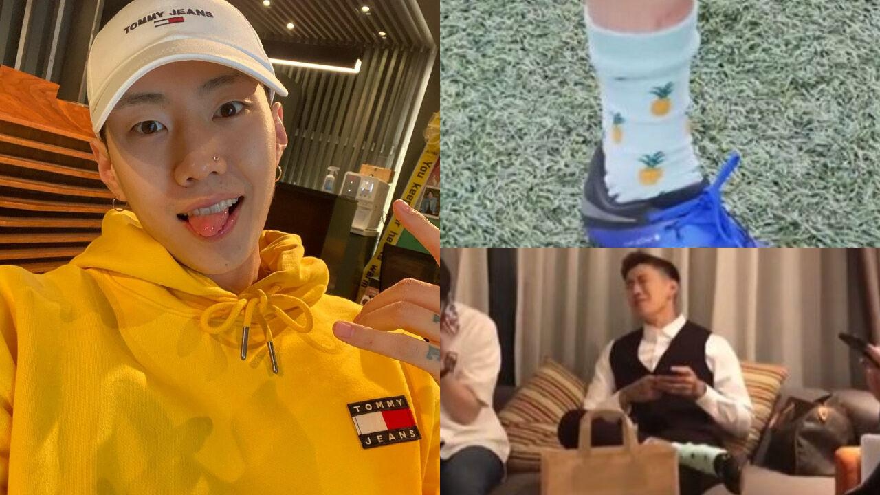 기사 대표 이미지:[SBS Star] Jay Park Wore a Pair of Socks that a Fan Gave Him for over 6 Years?