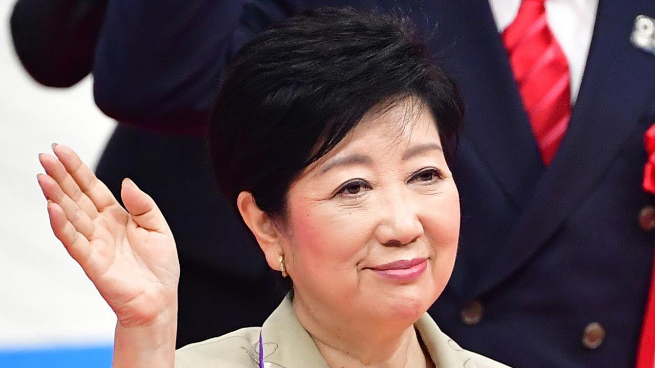 Tokyo Metropolitan Government Governor Yuriko Koike (Photo Credit=Getty Images Korea)