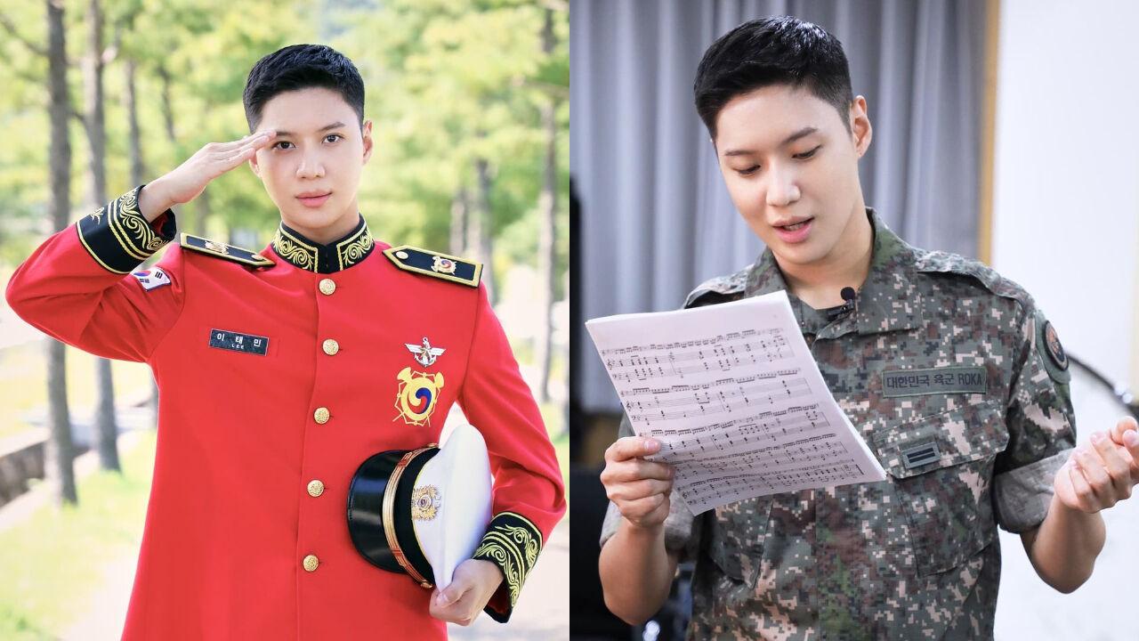 """기사 대표 이미지:[SBS Star] """"I Miss My Family and Fans, but..."""" SHINee TAEMIN Shares How He Is Doing in the Military"""