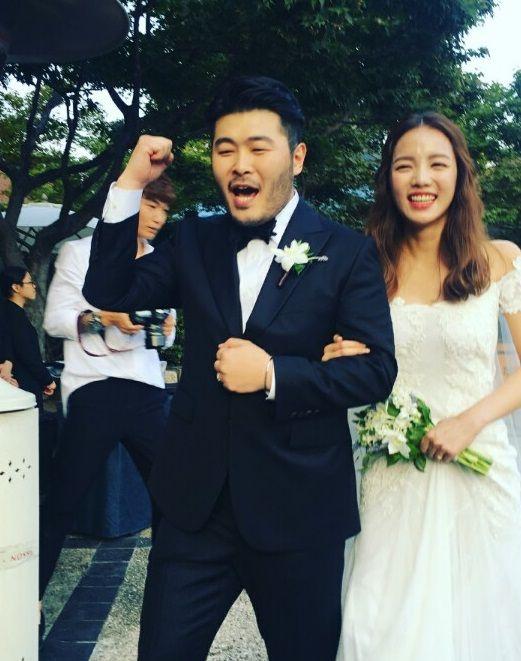 김기방 결혼식, 조인성-윤종신-박시연 등 마당발 인맥 총출동