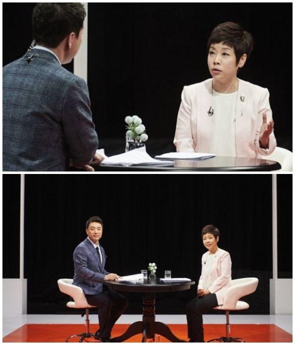 """김미화 """"세상 바뀐 것 체감…적폐청산 하고파""""  기본이미지"""