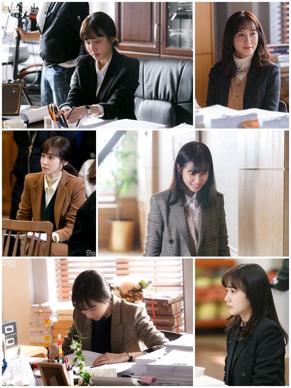 '이판사판' 박은빈, 청순외모+걸크러쉬 수트까지...  직장인 워너비룩 눈길  기본이미지