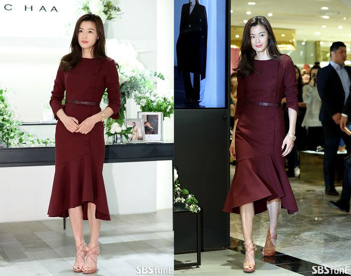 [펀펀한 현장]'두 아이 엄마' 전지현, '세월 비껴가는 미모'