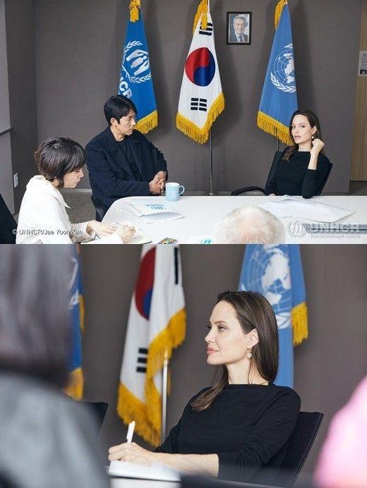 """정우성 """"졸리도 한국이 난민 문제로 시끄러운 걸 알아""""  기본이미지"""