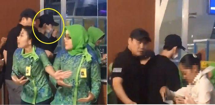 '억류' 이종석, 인도네시아 공항서 눈물…팬들 분노