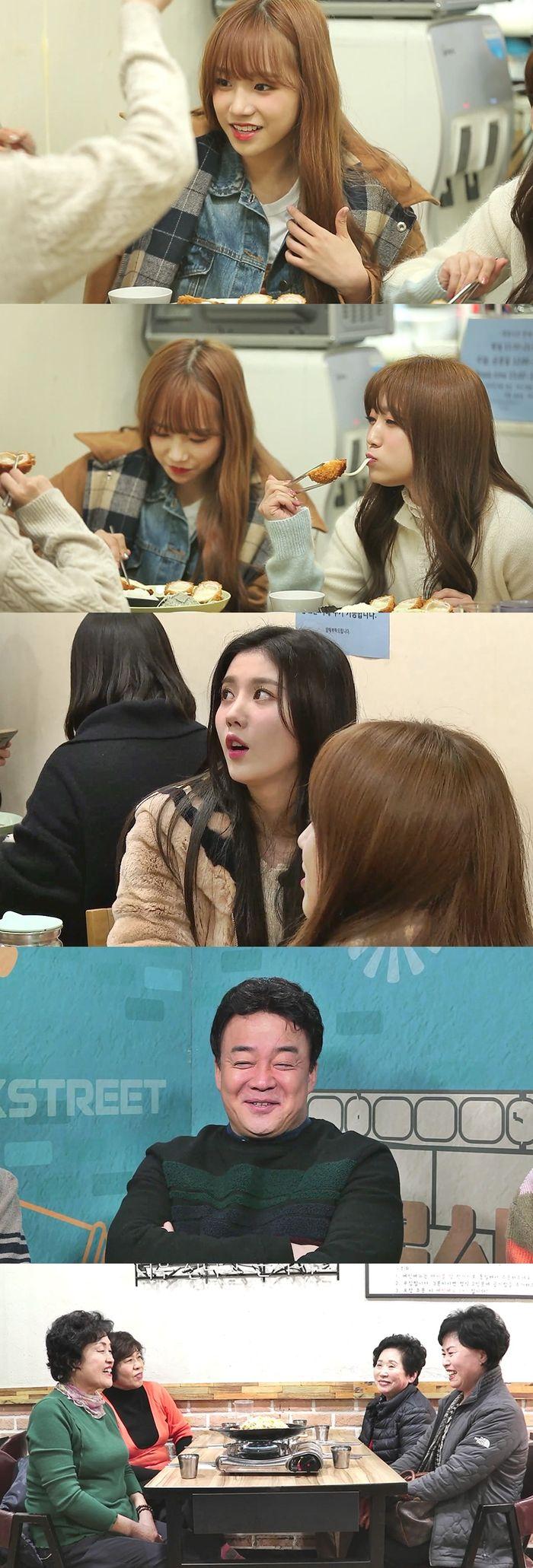 """아이즈원, '골목식당' 돈가스집 깜짝 방문…""""日서 먹은 것보다 맛있다"""""""