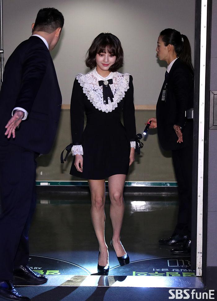 [E포토]'지효 입장'