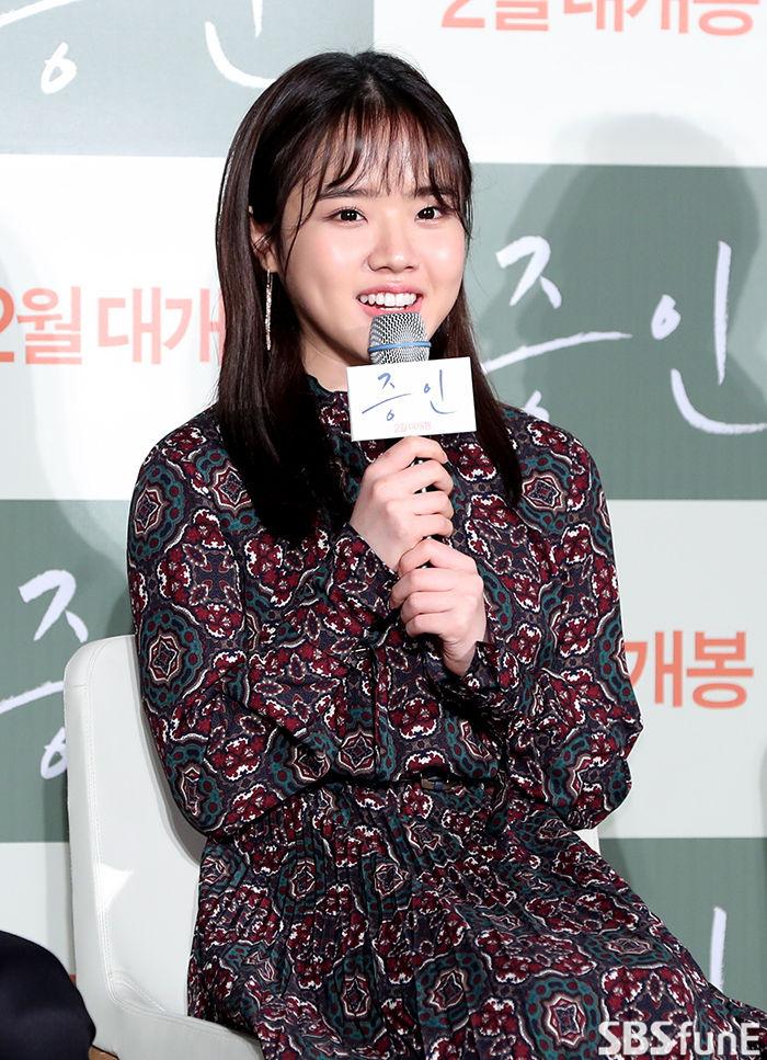 [E포토]김향기, '증인의 자폐 소녀 역으로'