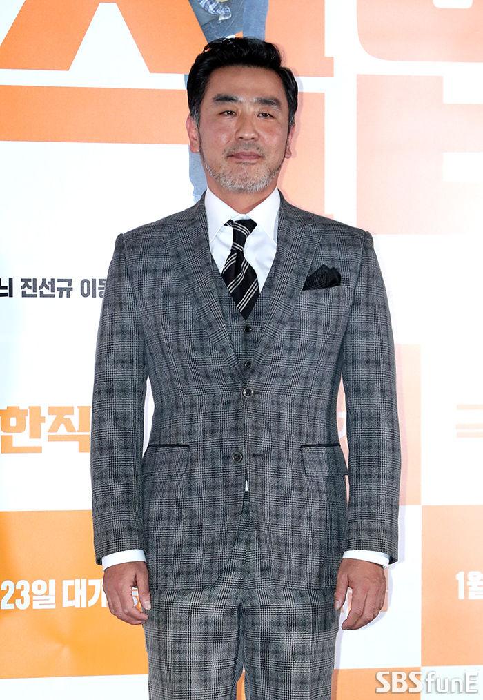 [E포토]류승룡, '치킨집 사장이자 형사 역으로'  기본이미지