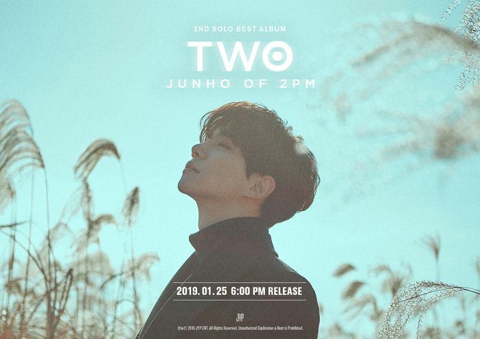 2PM 준호, 3년 4개월 만에 두 번째 솔로 앨범 발매  기본이미지