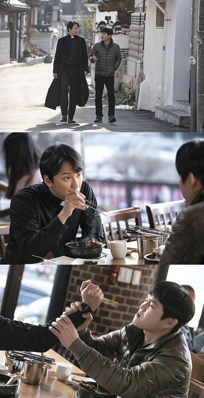 """""""지금까지 이런 공조는 없었다""""…'열혈사제' 김남길X김성균, 新남남케미 예고"""