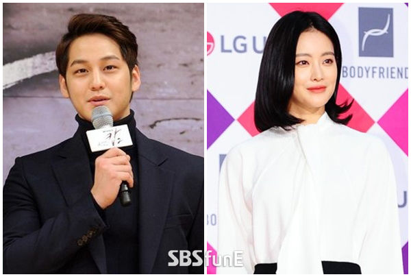 """""""지난해 말 결별""""…김범·오연서, 열애 10개월 만에 동료로  기본이미지"""