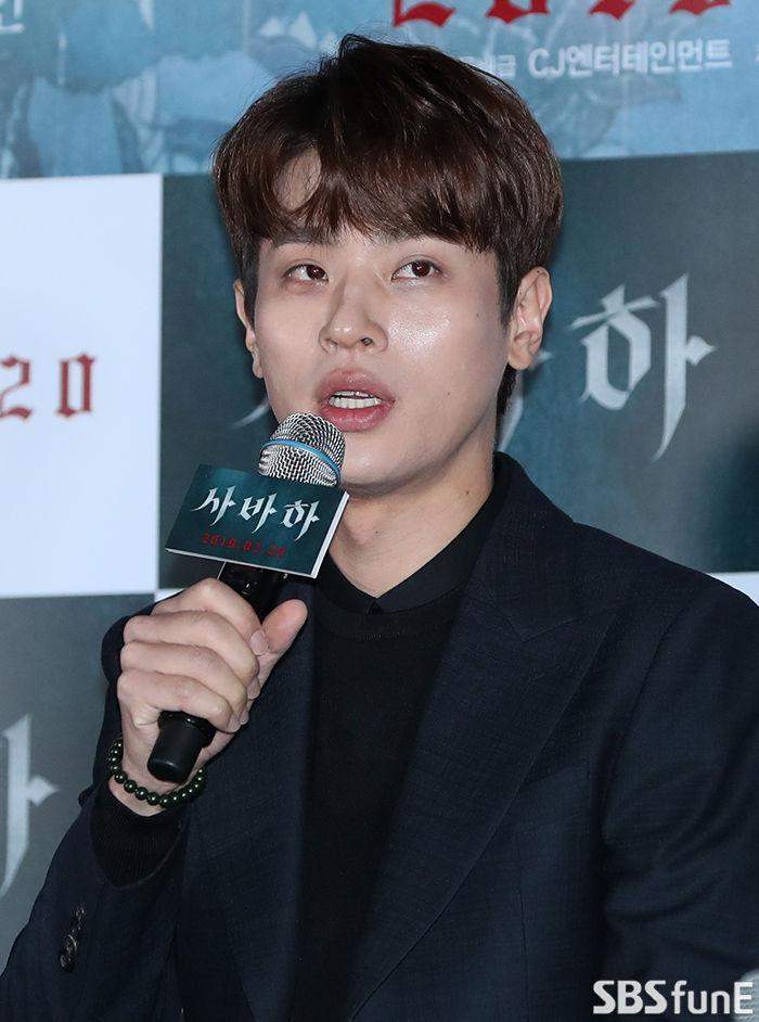 [E포토]박정민, '사바하 기대해주세요'
